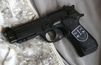 Grips for Beretta 92, Beretta 96, and Beretta M9