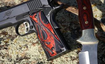 Rio Grande Custom Grips Full Size 1911 Gun Grips